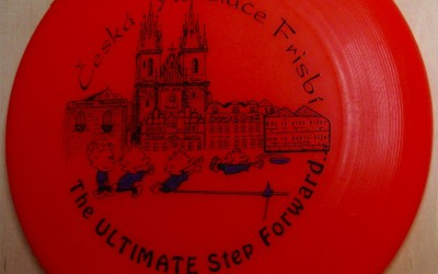 Disc from Czech Frisbi Association