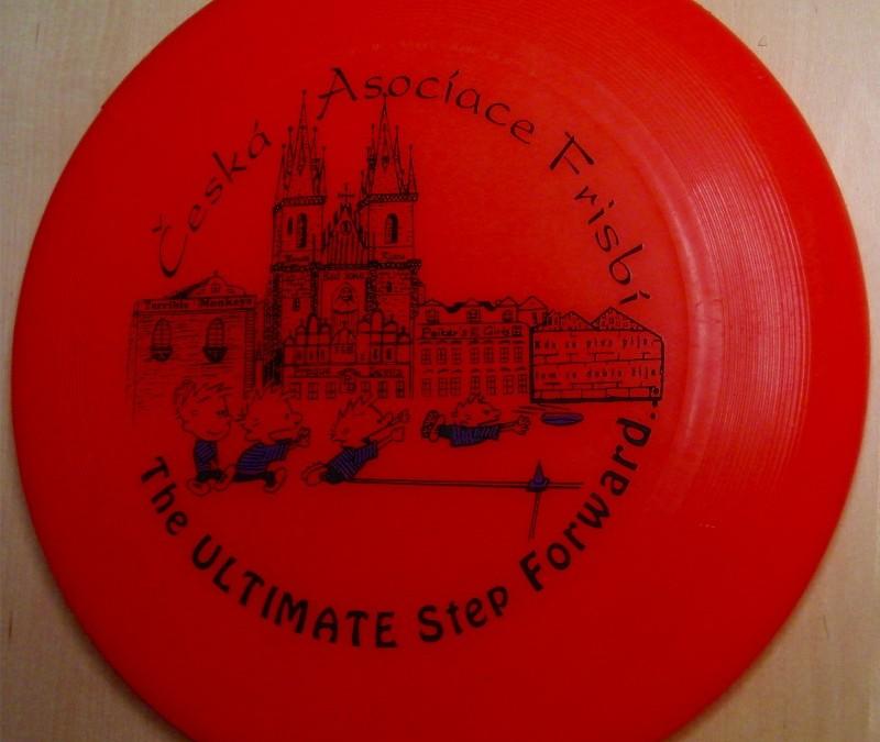 Disc from Czech Frisbi Association