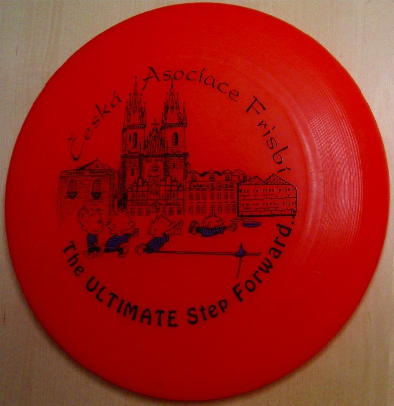 135g teenpro disc from yikuni sports china eucc 2001 prague event