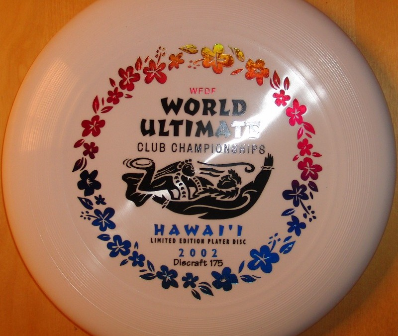 WUCC 2002 Hawaii limited Playersdisc