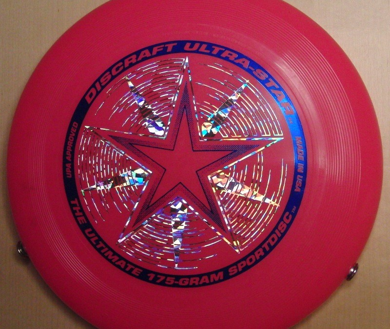 Discraft Ultrastar Starburst Pink with LED