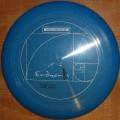 Endzonis 2001 Team disc blue sparkle