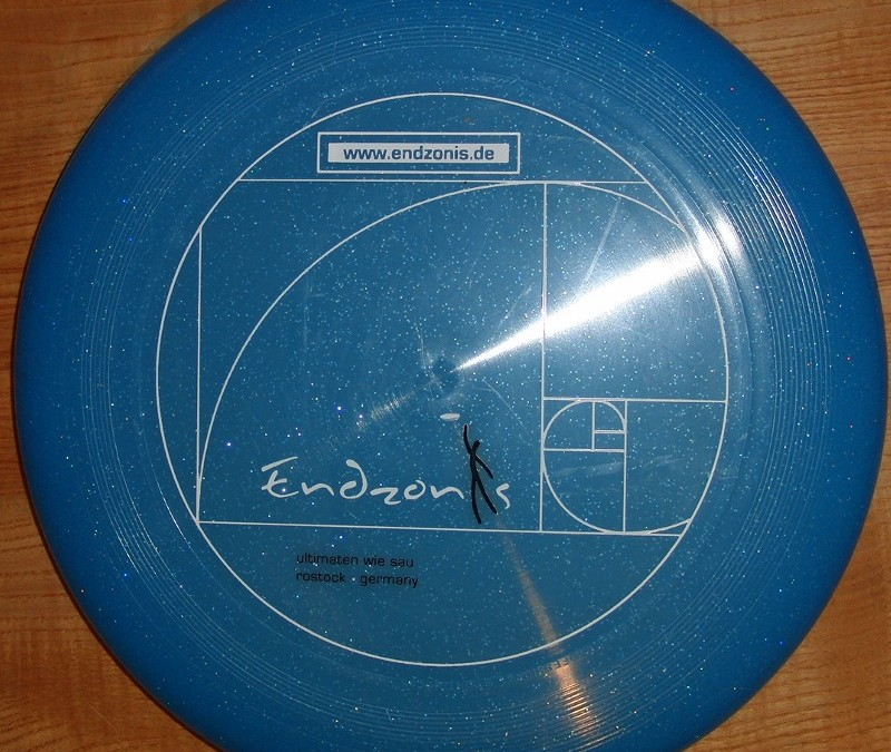 Endzonis Team Disc 2001  blue sparkle discraft