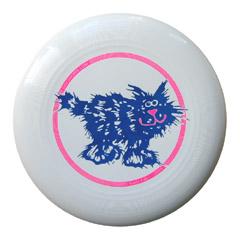Static cat frisbee