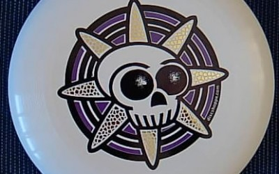 Skull design disc from discshoppe.com