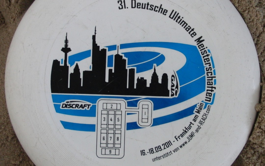 31 German Ultimate Championships 2011 Disc