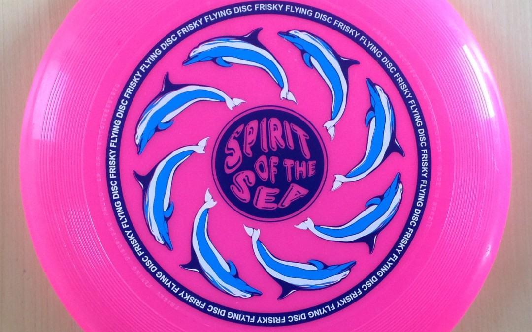 Spirit of the sea – Frisky Flying Disc from Brasil