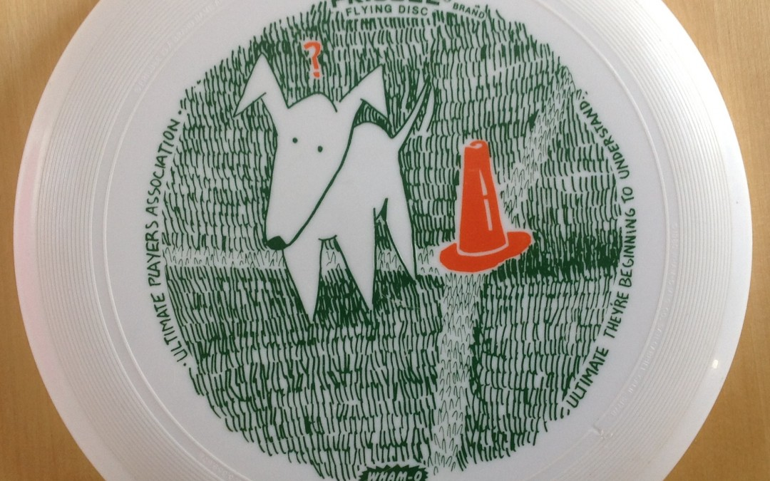 UPA Frisbee Dog Design
