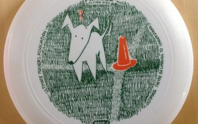 UPA Frisbee Dog Design