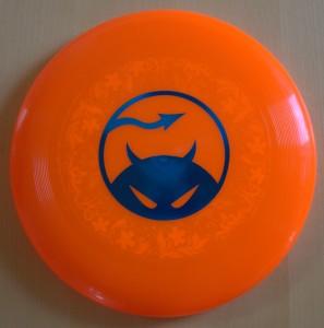 Daredevil disc underprint orange upside