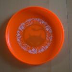 Daredevil disc underprint orange downside